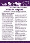 VAN Briefing 84 - Artists in Hospitals: guidelines for the voluntary arts