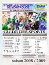 GUIDE DES SPORTS - 2008/2009 - SMM - STADE MULTISPORTS DE MONTROUGE