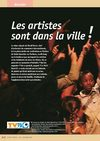 Les artistes dans la ville