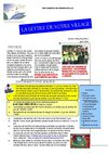 Lettre du Village n2 Juin 2008