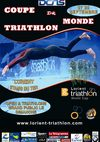 Affiche officielle coupe du monde triatlon 2008