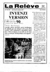 Inyenzi version 90 - La Relève - 19 octobre 1990 -