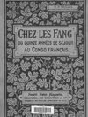 Chez les fang ou Quinze annes de sjour au Congo franais tome 2