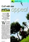 The Travel &amp; Leisure Magazine Golf in Murcia, Spain. + Golf News