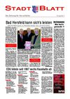 StadtBlatt Bad Hersfeld, Ausgabe 2, Mrz 2006