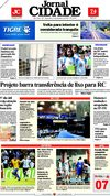 Jornal Cidade de Rio Claro - 08/09/2009