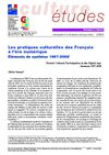 Les pratiques culturelles des Franais  l&#039;re numrique : enqute 2008