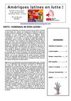 Amriques Latines en lutte n3 - Bulletin du groupe de travail Amrique Latine du NPA