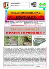 Bulletin Municipal de la commune de Montjaux n 50 - Juillet 2009