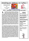 bulletin Amriques Latines en luttes NPA N4