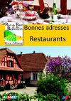 Restaurants 2010 - Pays de Barr et du Bernstein - Alsace