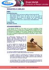 Newsletter n 7. Abril 2010. Prevencin Riesgos Laborales G. Interlab