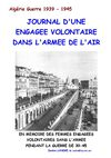 DENISE LANDRE ENGAGEE VOLONTAIRE ARMEE DE L&#039;AIR ALGERIE 1939-1945 (popodoran)