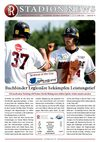 Stadionzeitung Nr. 05/2010 - Buchbinder Legionre vs. Neuenburg Atomics