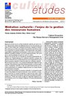 Mdiation culturelle enjeu de la gestion des ressources humaines