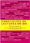 Complicits de lectures 2010
