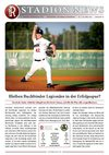 Stadionzeitung Nr. 07/2010 - Buchbinder Legionre vs. Mainz Athletics