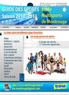 GUIDE DES SPORTS - 2010/2011 - SMM - STADE MULTISPORTS DE MONTROUGE