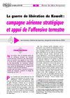 La guerre de libration du Kowet : campagne arienne stratgique et appui des forces terrestres