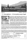 Bulletin municipal d&#039;informations - Septembre Octobre 2010