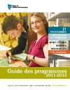 GUIDE DES PROGRAMMES 2011-2012