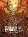 Le tour du monde en 80 jours par Loc Dauvillier &amp; Aude Soleilhac ( Guy Delcourt Productions, 2010)