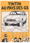 Tintin in the land of the Citroën GS