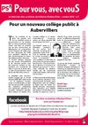 Lettre des Elus socialistes d&#039;Aubervilliers - Octobre 2010