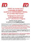 AUCHAN LE PONTET ALERTE AU HARCLEMENT MORAL ET AUTRES PRATIQUES