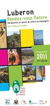 Luberon Rendez-vous Nature - catalogue 2011