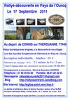 Rallye dcouverte en pays de l&#039;ourcq le 17 Septembre 2011