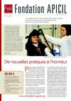 FONDATION APICIL CONTRE LA DOULEUR Newsletter 2