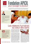 FONDATION APICIL CONTRE LA DOULEUR Newsletter 6