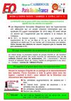 Carrefour en grve le 9 avril 2011 : tract Paris Ile de France