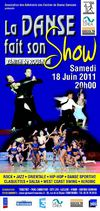 36me Grand Spectacle de Danse Sportive  rouen le 18 juin 2011 au Znith de Rouen - achat place