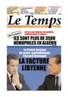 Le Temps d&#039;Algrie Edition du Dimanche 17 Avril 2011