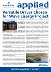 Versatile Drives Chosen for Wave Energy Project