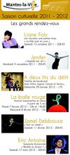 Saison culturelle 2011-2012 de Mantes-la-Ville prprogramme