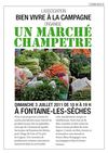 March champetre 3 juillet dans le chtillonnais