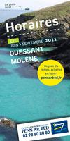 guide horaires t 2011 Ouessant Molne