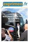 Lettre Exprimeo 271 : Rick Perry ou le retour du cow-boy rpublicain