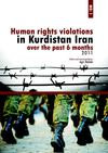 Human rights violations in East Kurdistan over the past 6 months