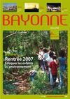Bayonne Magazine n148 Septembre - Octobre - Novembre 2007