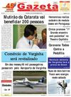 Jornal Gazeta de varginha 05 A 07/11/2011