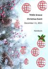 TESOL Greece Christmas Event - Handouts