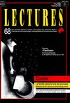 Lectures, 68, septembre - octobre 1992