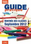 Guide de la rentre scolaire 2012-2013