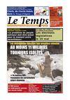 Le Temps d'Algérie Edition du Samedi 11 Février 2012