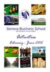 GBS Activity Feb-June 2012
