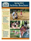 WPRD 2012 Spring Activity Brochure